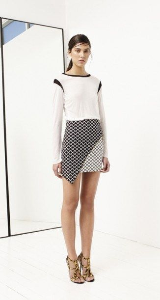 Discerning Top White by bec and bridge