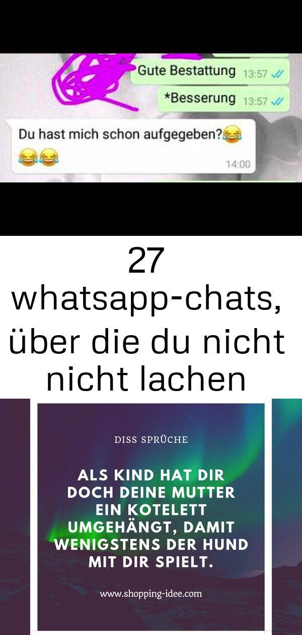 27 Whatsapp Chats Uber Die Du Nicht Nicht Lachen Kannst 5 Lachen Whatsapp Schreiben Spruche
