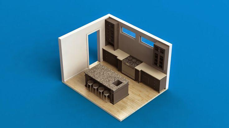 markas studio: Black Kitchen Cabinet   Kabinet Dapur Hitam (Classic/Vintage)
