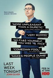 Last Week Tonight with John Oliver: He should've taken over from Jon Stewart as host of the Daily Show. Instead we got a weekly show on premium cable. He's got the pithiest dimples in comedy!