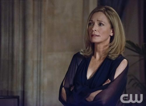 "Arrow -- ""The Undertaking"" -- Image AR121a_0195b -- Pictured: Susanna Thompson as Moira Queen -- Photo: Cate Cameron /The CW --  2013 The CW Network. All Rights Reserved"