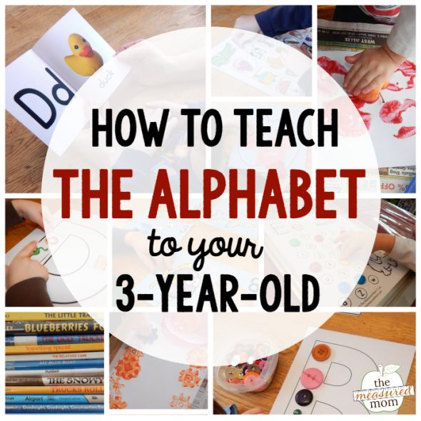 how to teach 3 year old to write alphabet