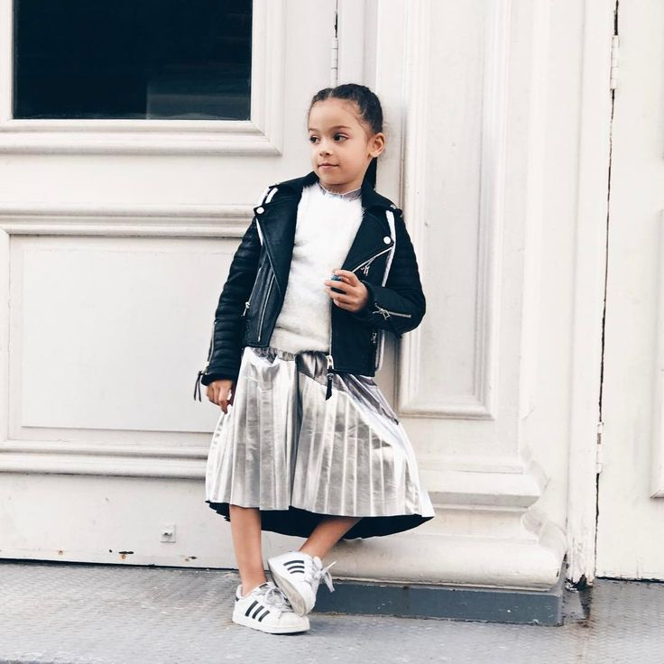 Smartly styled Kid, totally rockin her look