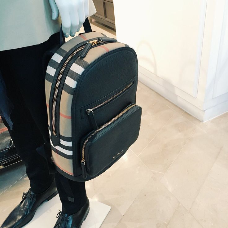 Burberry Backpack Leather