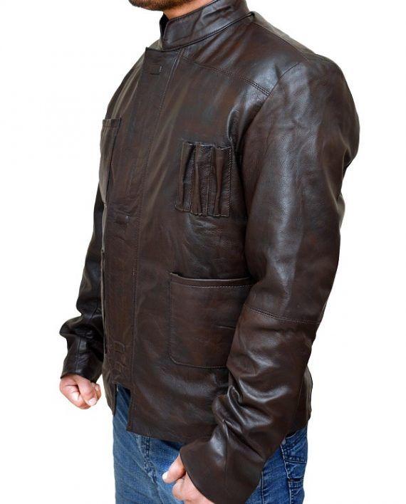 Force Awakens Harrison Ford Jacket