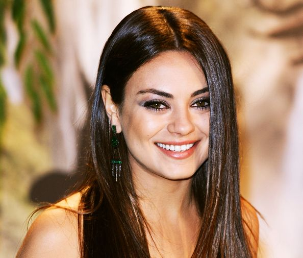 Mila Kunis is Expecting Her First Child with Ashton Kutcher  #InStyle