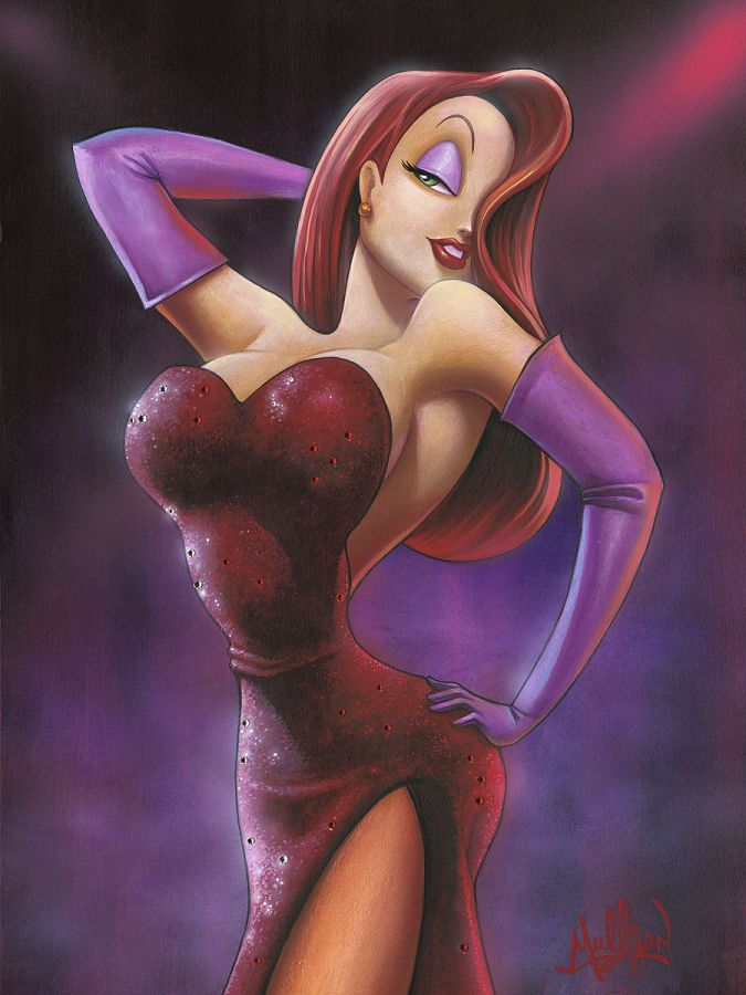"""Girl in Red"" by James C. Mulligan 