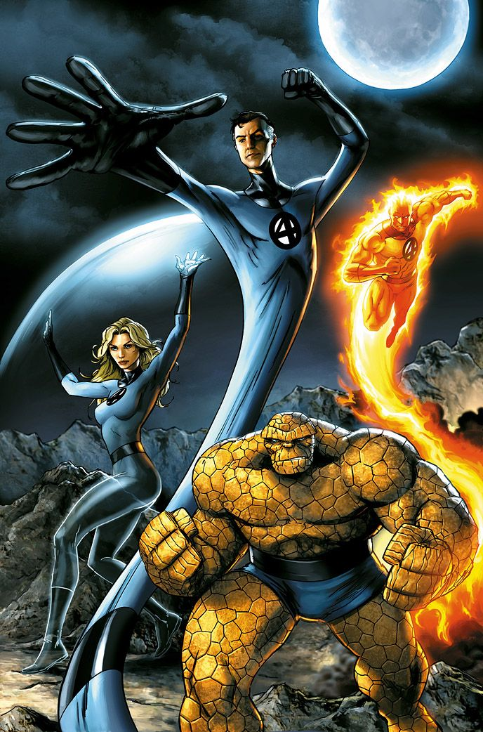 Fantastic Four by one of the myriad of artists who do not 'get' this group.