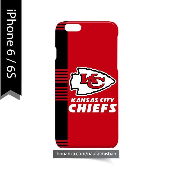 Kansas City Chiefs Line iPhone 6/6s Case Cover Wrap Around
