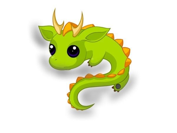 cute dragon | Disney.com/Create - Cute little dragon - belletrix More