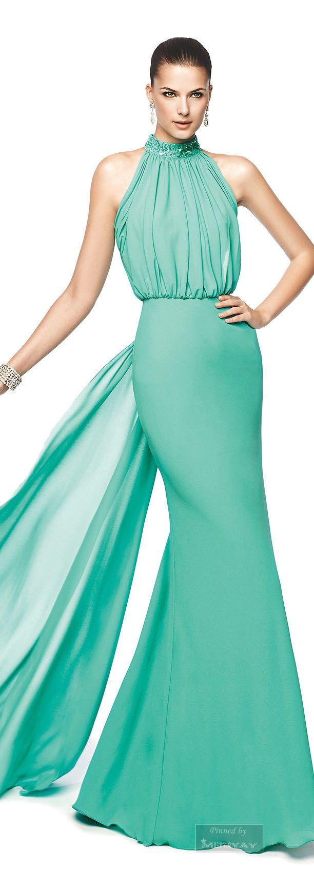 26 best vestidos images on Pinterest | Prom dresses, Evening gowns ...