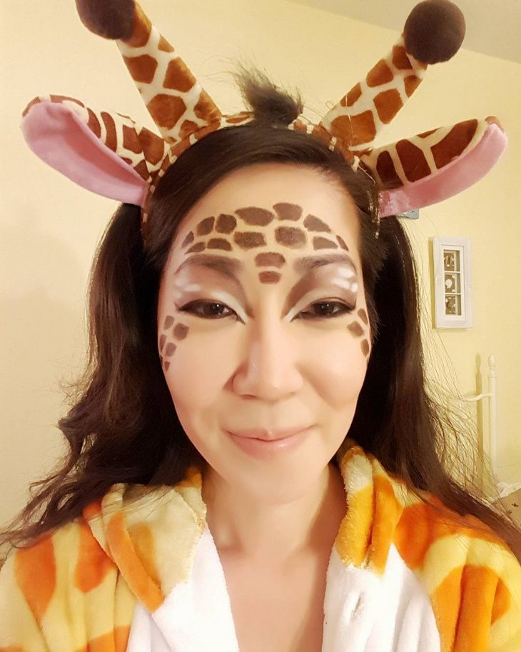 maquillage girafe