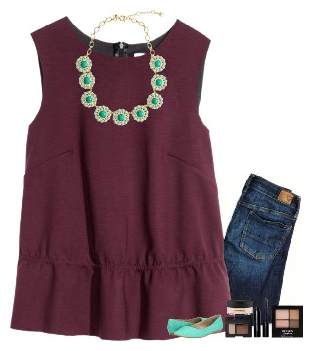 """""""this princess doesn't need a crown """" by mehanahan ❤ liked on Polyvore featuring American Eagle Outfitters, H&M, J.Crew, Revlon, Bobbi Brown Cosmetics, MAC Cosmetics, NARS Cosmetics and BC Footwear"""