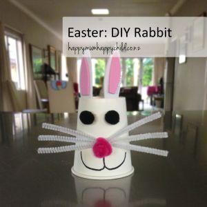 Happy Mum Happy Child's Easter DIY Rabbit