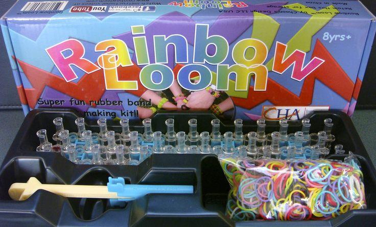 Conociendo el juego de  Rainbow Loom.