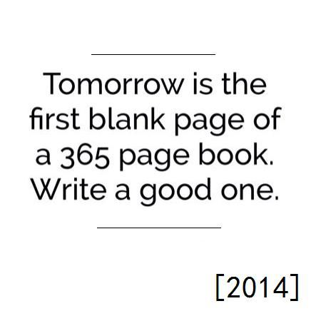 2014 Happy New Year - Bits of Truth... all quotes