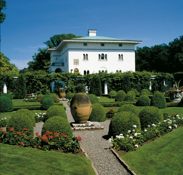 Solliden in Öland. It is summer residence of the Swedish Royal Family. Beautiful garden promising nice walk. For payment thought :P