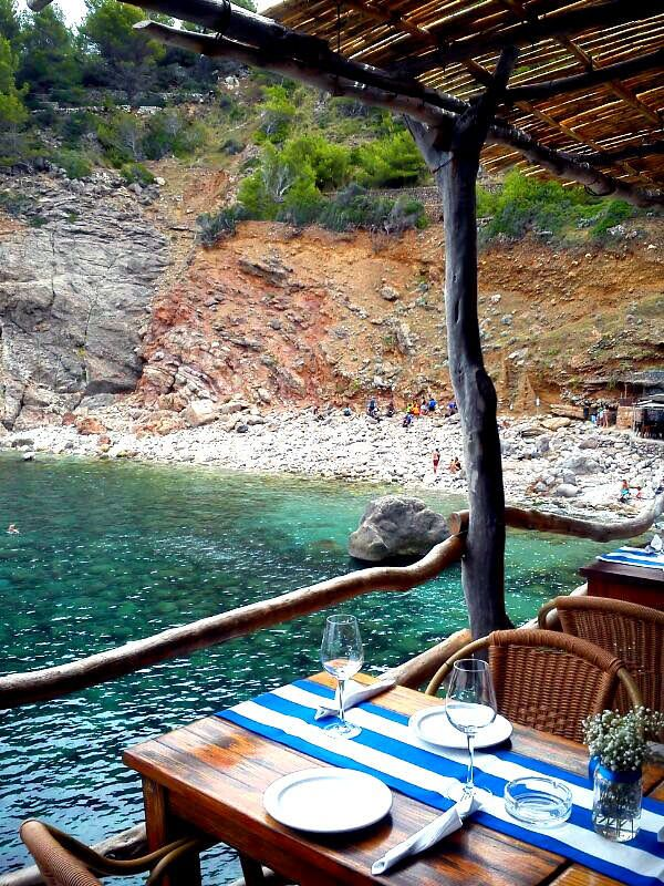 Ca's Patro March - We love spending the summer evenings being wined and dined at this place.  It has the most incredible fresh fish