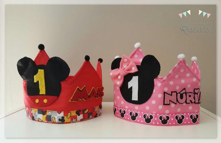 Ahora que ya estamos en otoño he decidido enseñaros TOOOODAS las coronas de cumpleaños que he hecho durante el verano ... que han sido unas...