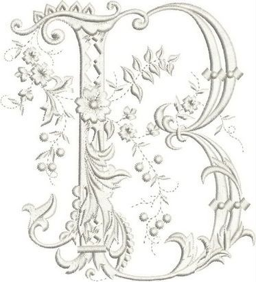 Monograms Machine Embroidery Designs #embroiderydesigns