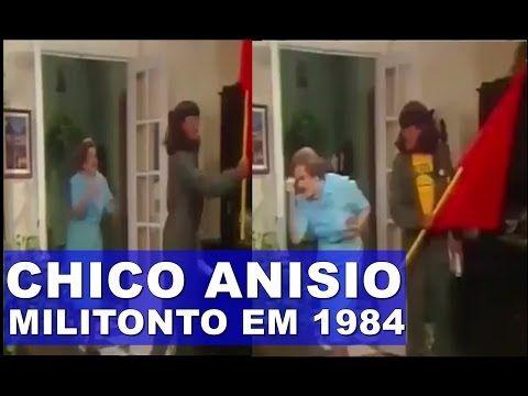 Vídeo mostrando Chico Anysio ridicularizando petistas e militontos em 84...