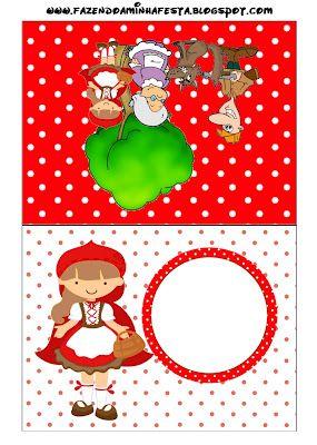 Caperucita Roja. #Imprimibles #Fiestas #Cuentos