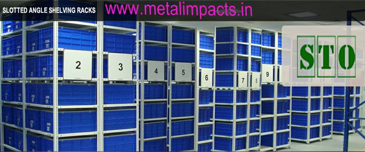 "Do you have any idea about ""SLOTTED ANGLE SHELVING RACKS"" see here....????"