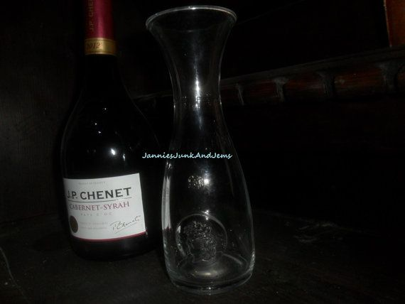 Glass Decanter  iTALIAN  Found In France by GlassEyedGoblin, €12.00