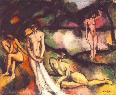 Composition with Nudes