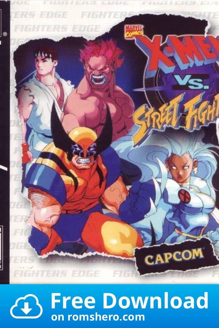 Download X Men Vs Street Fighter Slus 00627 Playstation Psx Ps1 Isos Rom In 2020 Street Fighter Man Vs Fighter