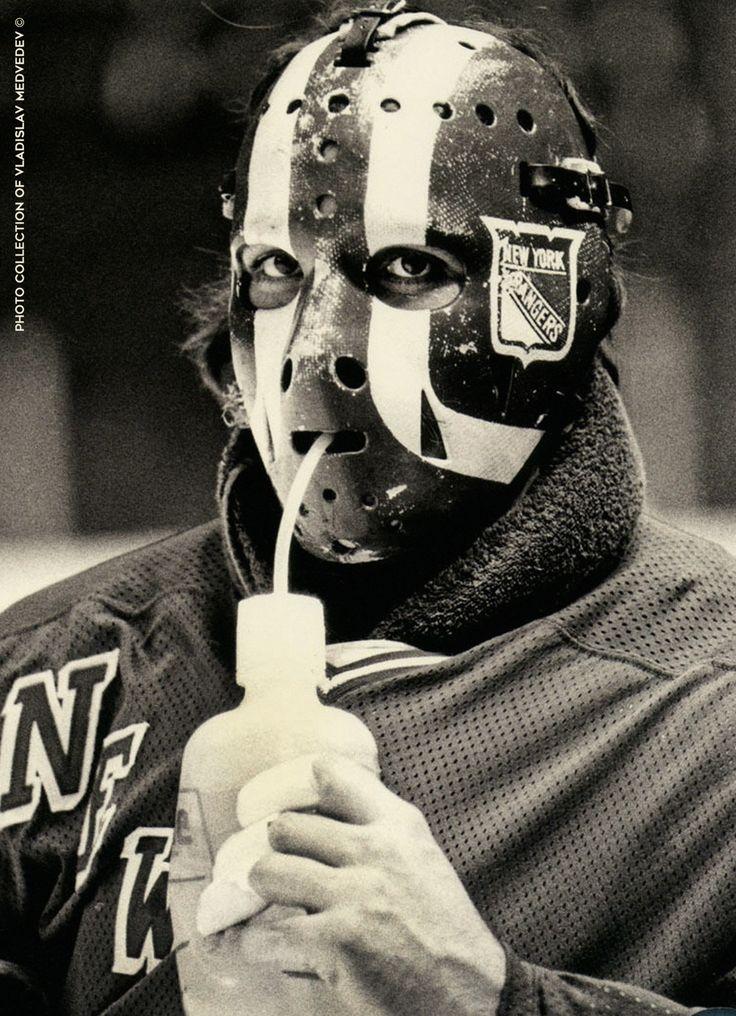 """Джон Дэвидсон - голкипер """"Нью-Йорк Рейнджерс"""". #icehockey #goalie #nhl #хоккей #вратарь #нхл"""