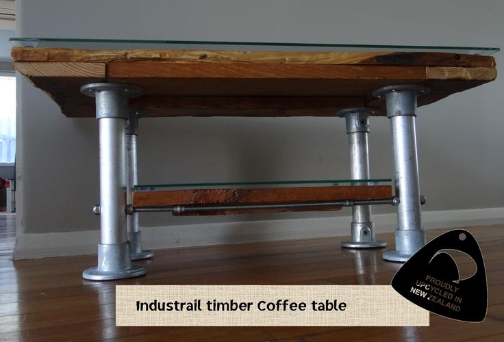 Loving this ruggered solid timber coffee table. Solid Industries. Royal art furniture, upcycled