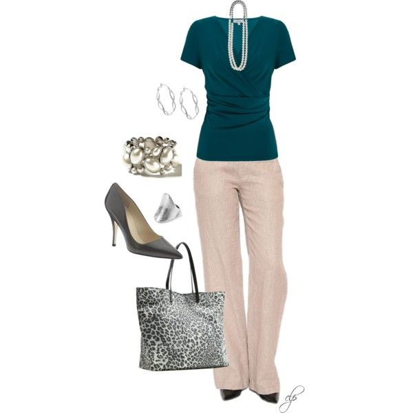 A fashion look from August 2012 featuring Kaliko tops, Nanette Lepore pants and MANGO handbags. Browse and shop related looks.