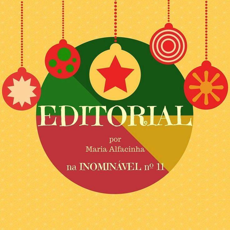 Revista Inominável nº 11 Editorial