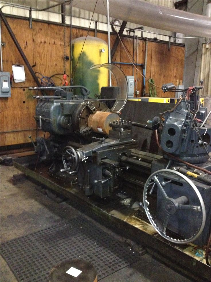 Warner & Swasey manual lathe, possibly.