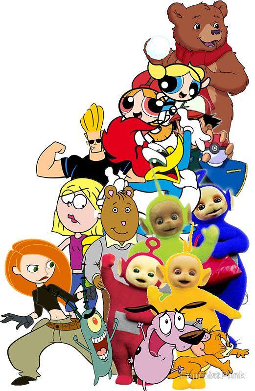 90s+Cartoon+Charecters