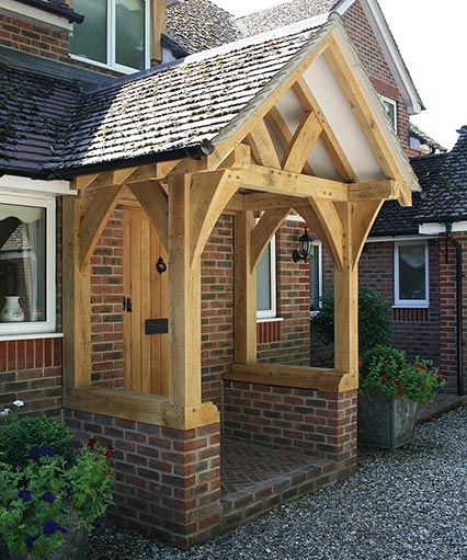oak porch - Google Search  If you have any questions at all about windows or doors, feel free to contact us - just answers, no sales (unless that's what you're asking for :-)