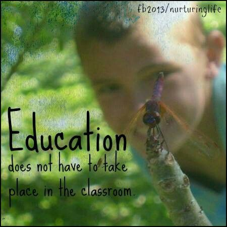 Education in nature!