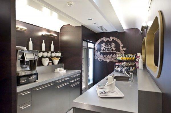 Googles Paris Offices micro kitchen Room to Work Pinterest
