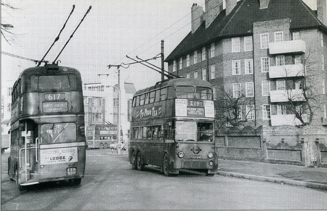Caledonian Road in the 1950s (1)