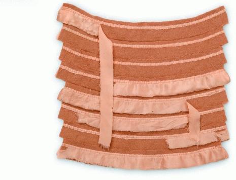 Loved - Reclaimed wool blankets, satin bindings, thread. Hand-sewn. by Marie Watts