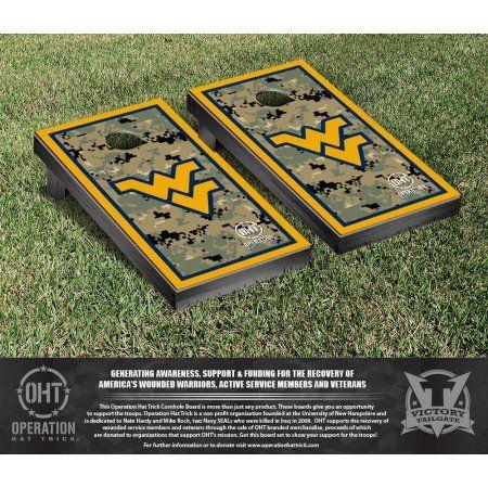 West Virginia University Mountaineers WVU Cornhole Game Set - Walmart.com