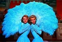 white christmas sisters ....It would have been sweet if Mary and I could sing!!