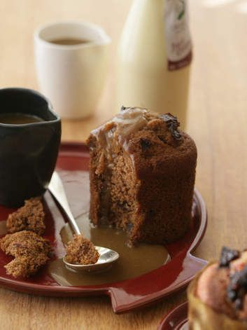 Nothing better: Sticky toffee pudding.
