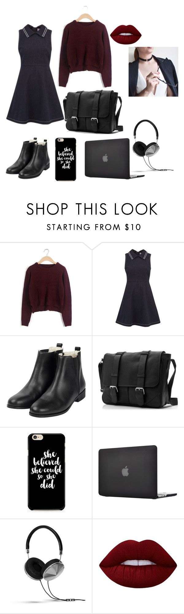 Fall by butterfly-18 on Polyvore featuring RED Valentino, Frends and Lime Crime