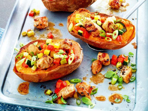 Ofen-Süßkartoffel Rezept | LECKER