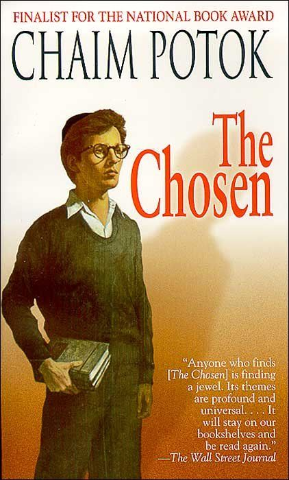 I read this book when I had the flu as a kid. So good. I even read it again a few years back. - American Jewish author and Rabbi - Chaim Potok; Born in Buffalo, NY