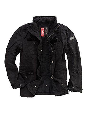 Delta Industries Herren Britannia Jacket, ein robustes Field Jacket … feuertauglich, weil Baumwolle und keine Kunstfaser … und mit Imprägnierwachs auch relativ regenfest …