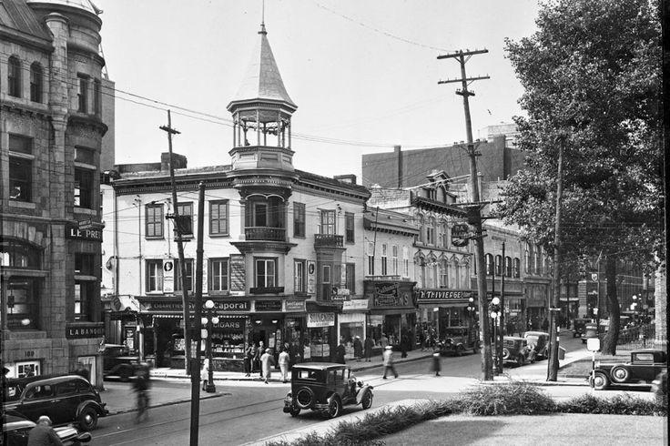 La rue Saint-Joseph en 1945