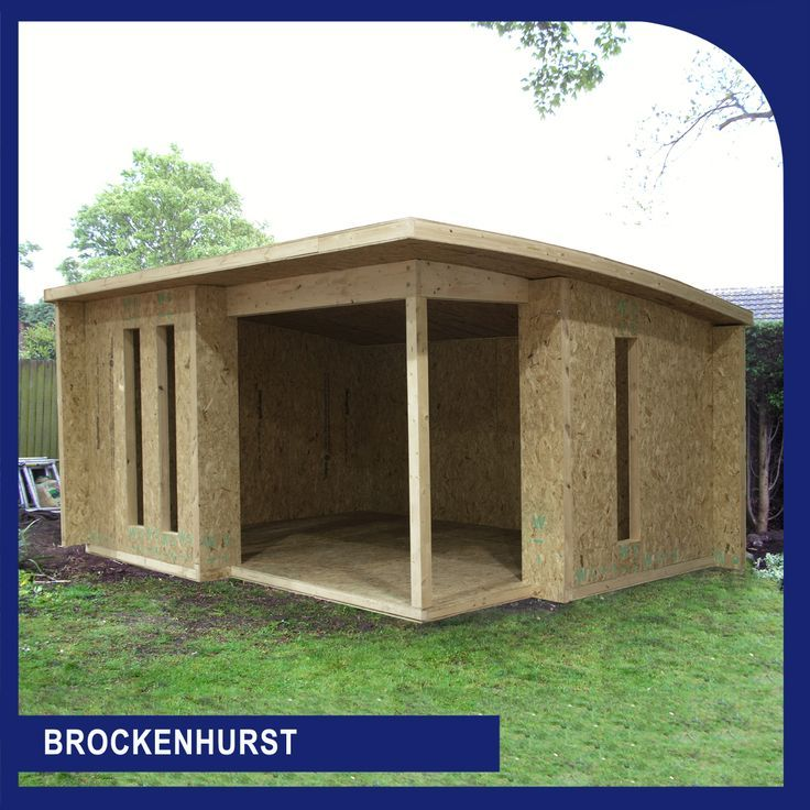 Sips Uk Flat Pack Kits Garden Buildings Annexs Building Annex Self Build Annex S Summer Garden Annex Summer House Garden Garden Buildings Building A Shed
